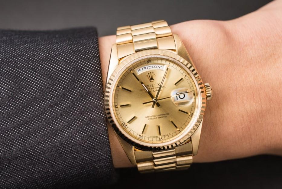 Rolex Day Date President 18k Untuk yang Suka Kemewahan